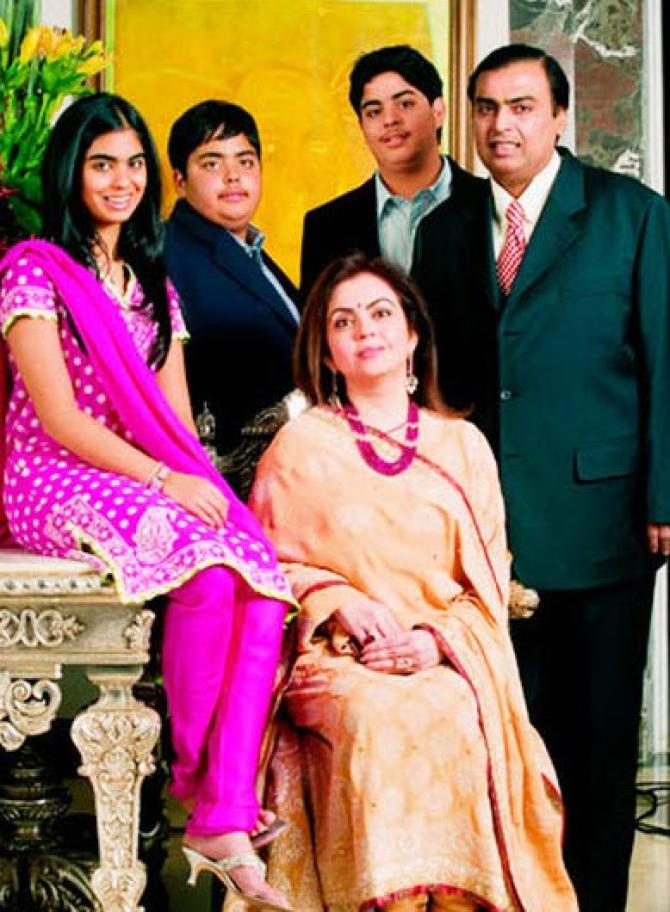 Ambani Family