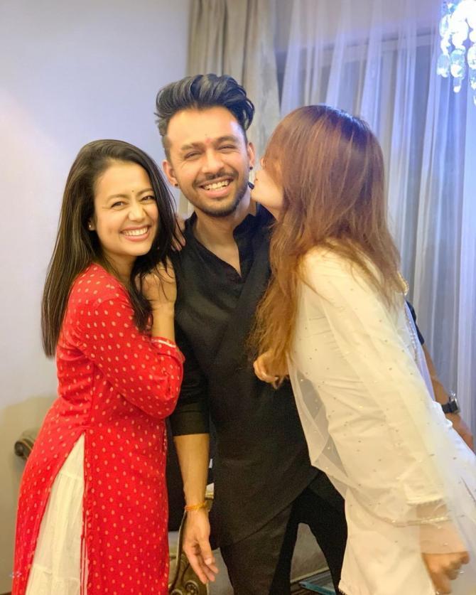 Sonu Kakkar, Tony Kakkar and Neha Kakkar