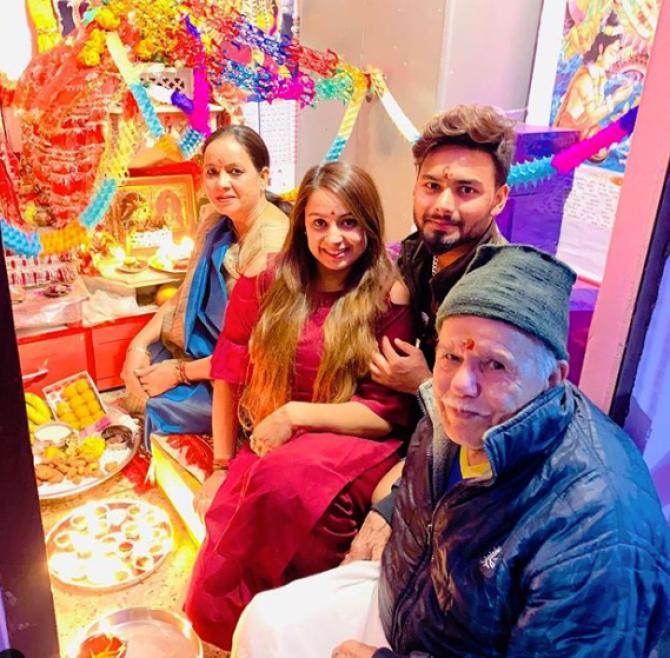 Rishabh Pant Introduces His Girlfriend Isha Negi To The