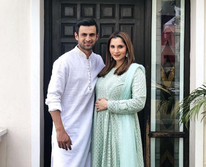 Sania Mirza and Shoaib Mirza