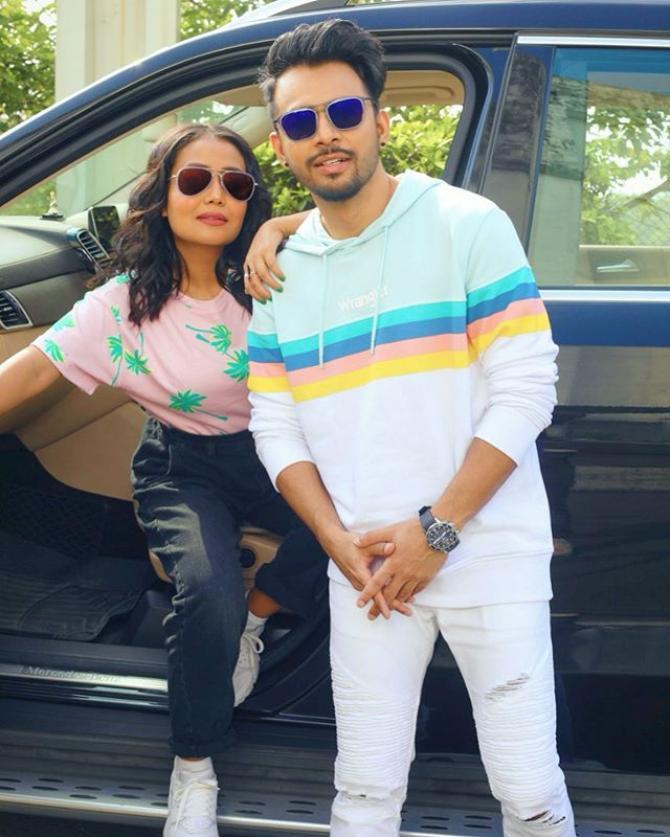 Tony Kakkar and Neha Kakkar