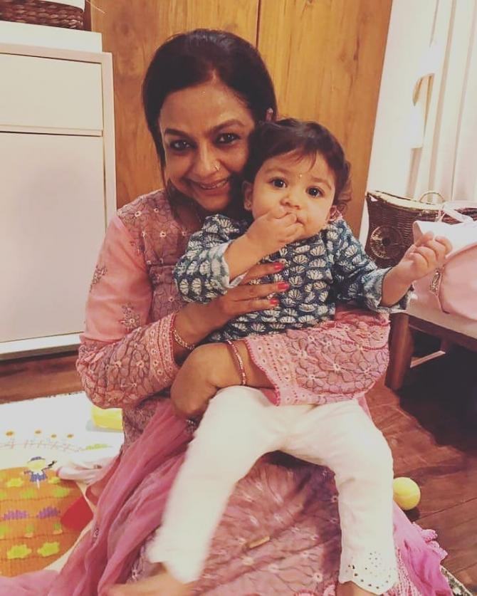 Misha Kapoor and Neelima Azeem