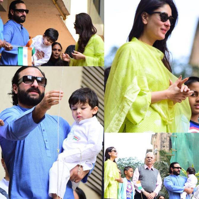 Taimur Ali Khan celebrates Republic Day