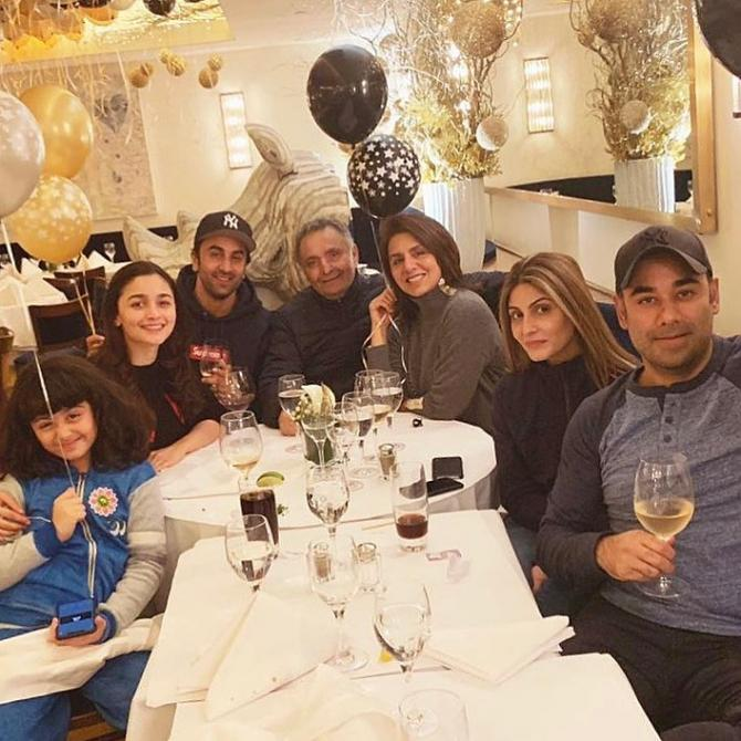 Kapoor's New Year 2019 party