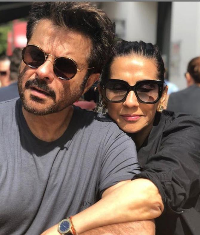 Anil Kapoor and Sunita Kapoor make for an amazing couple