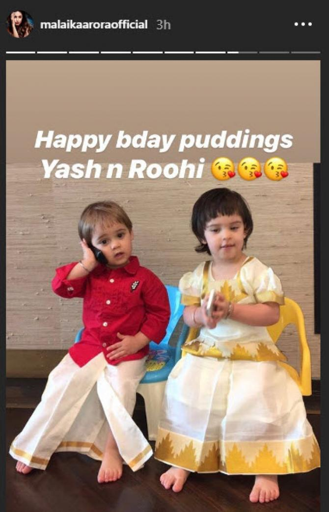 Yash and Roohi traditional avatars