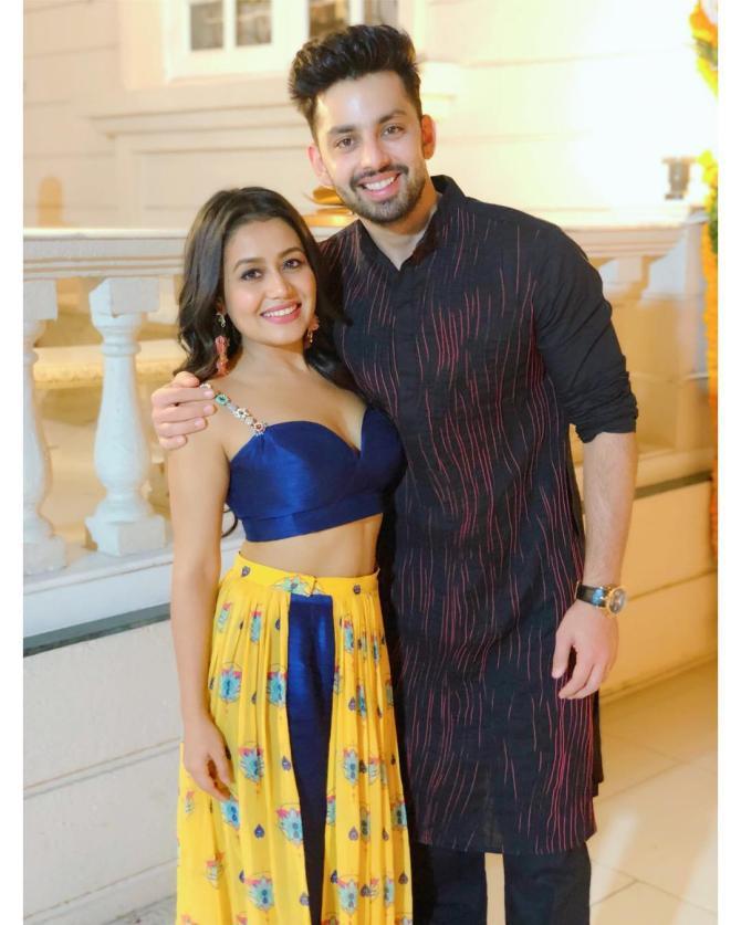 Neha Kakkar and Himansh Kohli
