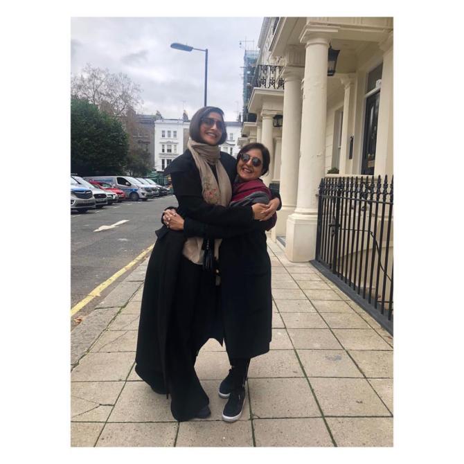 Sonam Kapoor Ahuja and Priya Ahuja