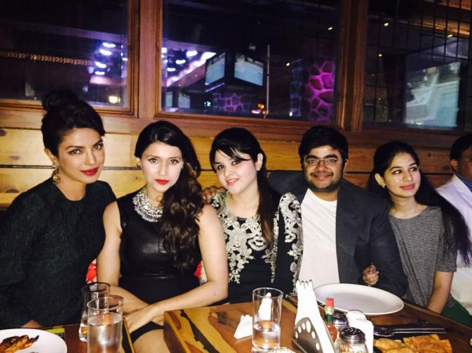 Priyanka Chopra, Kanika Mathur and Siddharth Chopra