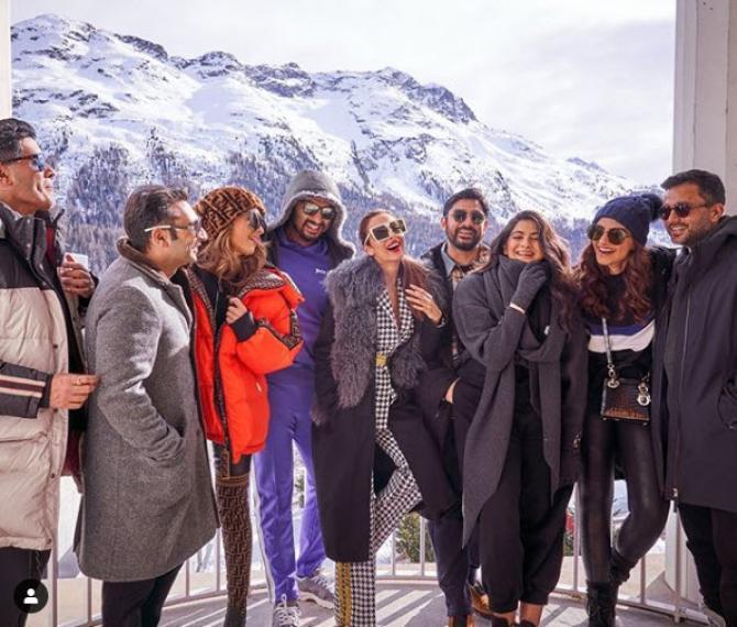 Malaika Arora Khan Is Already Bonding With Arjun Kapoor's Family