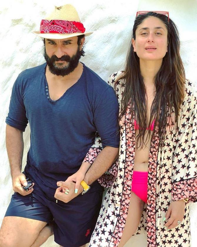 Saif Ali Khan and Kareena Kapoor Khan