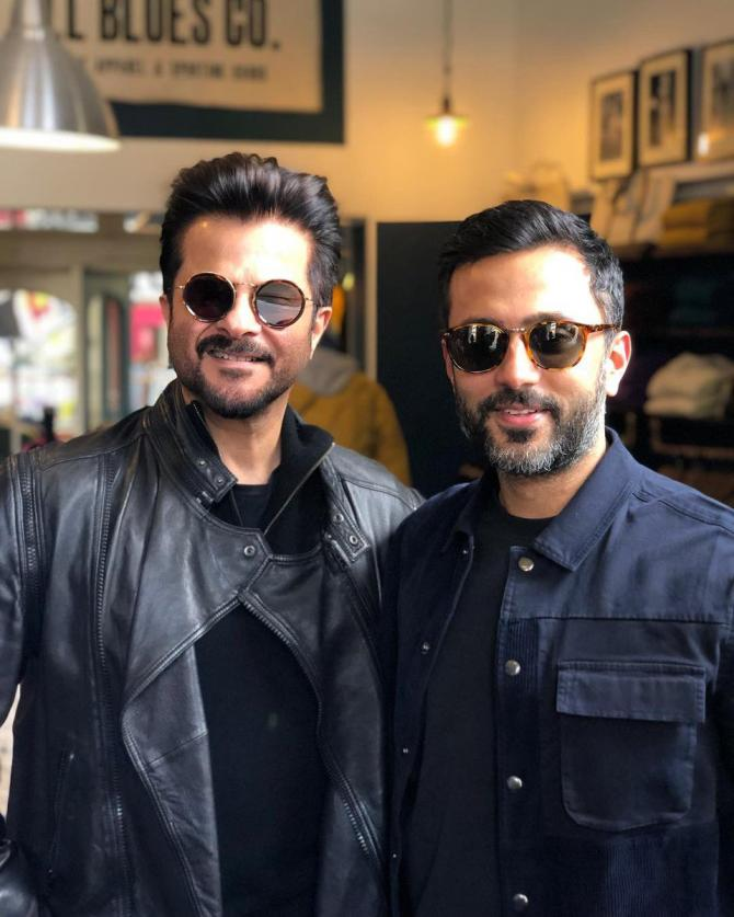 Anil Kapoor and Anand S Ahuja