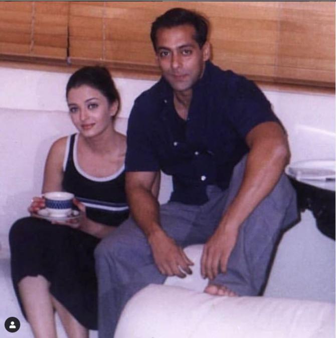 Aishwarya Rai and Salman Khan's throwback picture