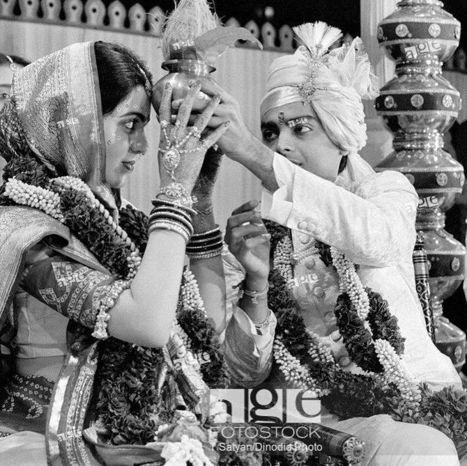 Nita Ambani And Mukesh Ambani wedding pictures