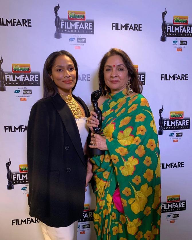 Masaba Gupta and Neena Gupta