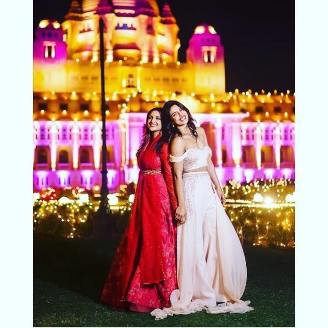 Priyanka Chopra Jonas and Parineeti Chopra