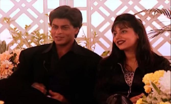 SRK with Gauri khan