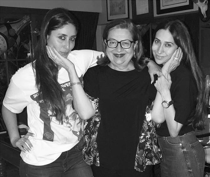 Karisma, Kareena and Babita