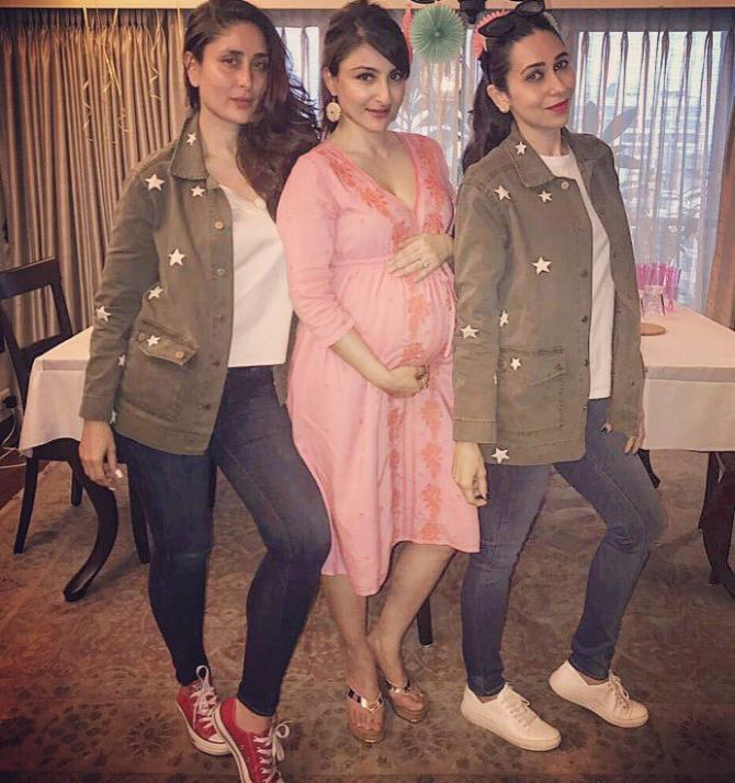 Karisma Kapoor, Kareena Kapoor Khan and Soha Ali Khan