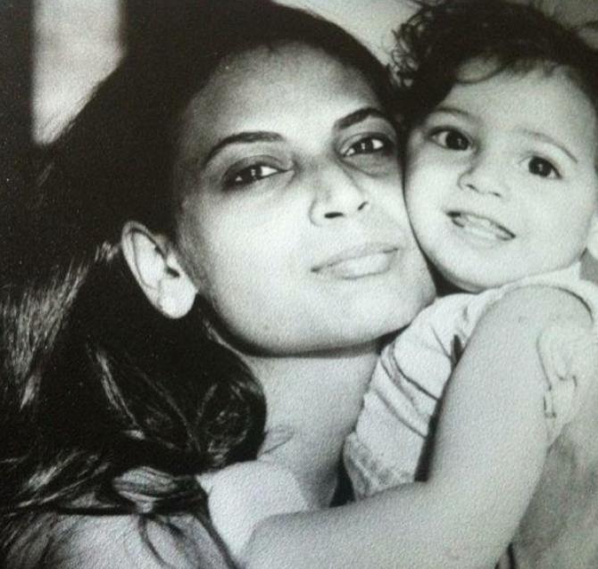 Dia Mirza and Deepa Mirza