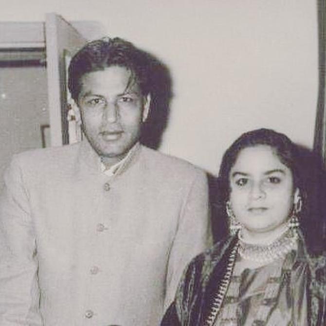 Taj Mohammed Khan and Lateef Fatima Khan