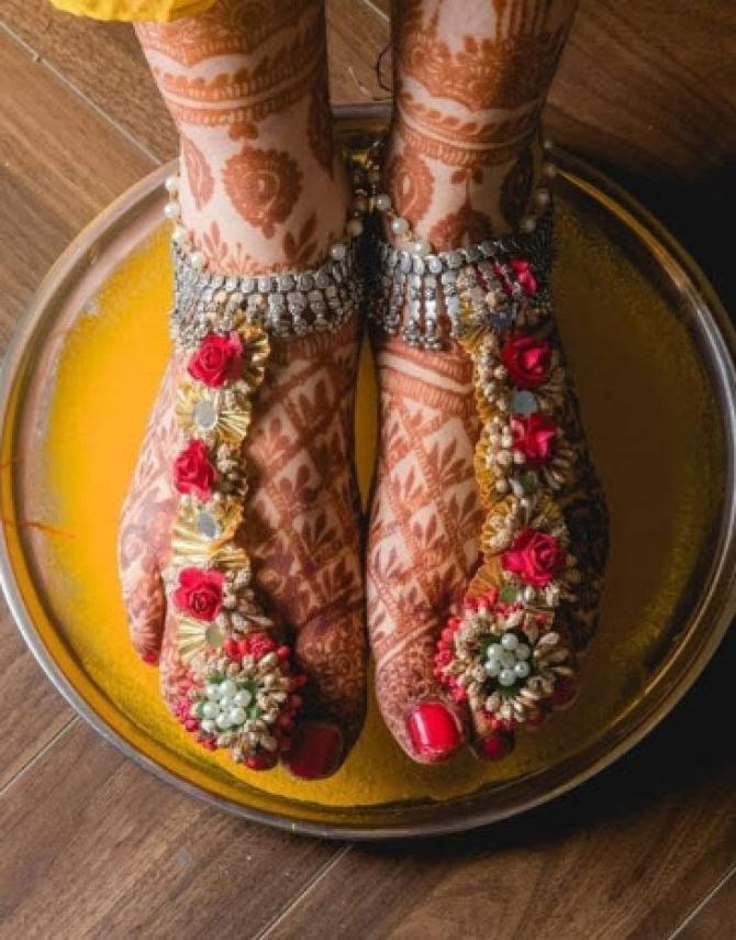 Gota Anklets For Feet