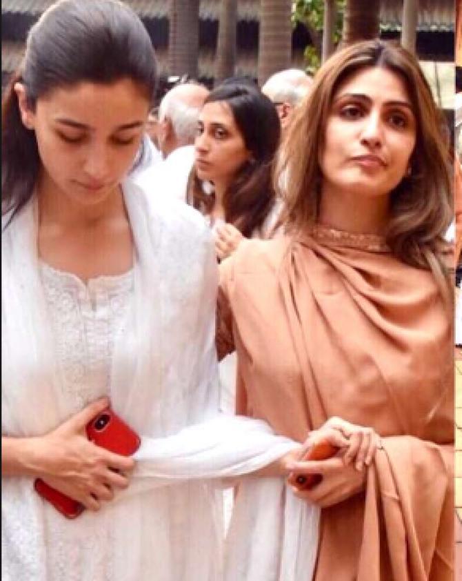 Alia Bhatt and Riddhima Kapoor Sahni