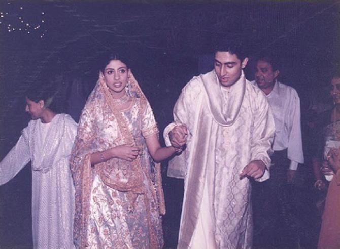 Shweta Bachchan Nanda and Abhishek Bachchan