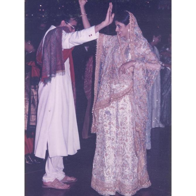 Shweta Bachchan Nanda and Nikhil Nanda