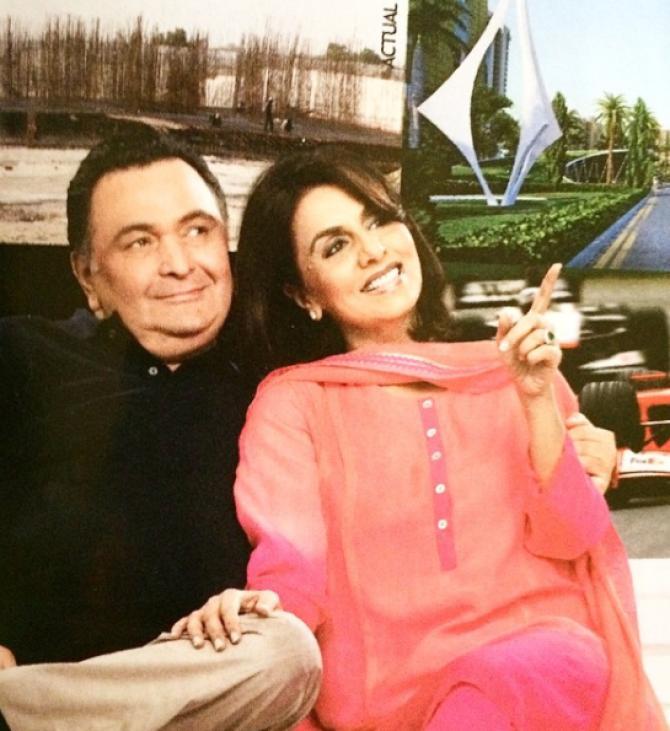 Rishi Kapoor and Neetu Kapoor