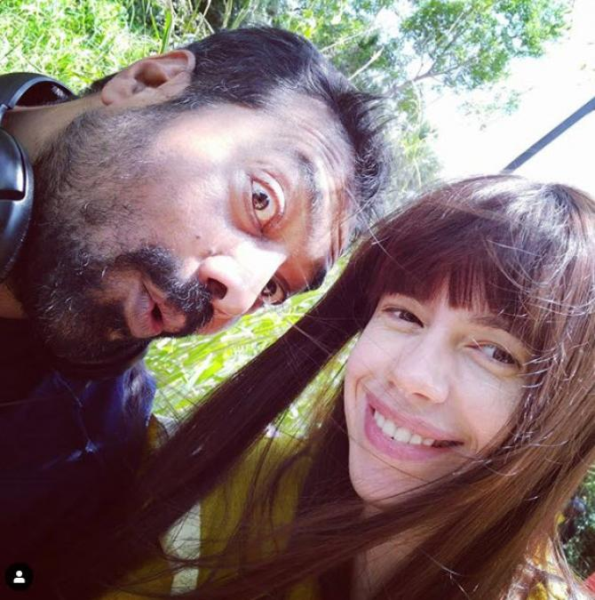 Klaki Koechlin and Anurag Kashyap