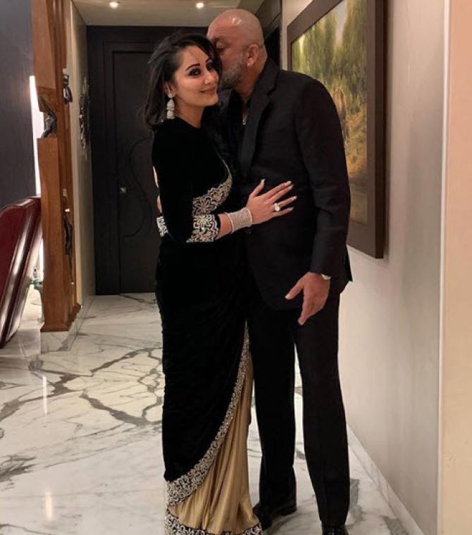 sanjay dutt and maanayata dutt