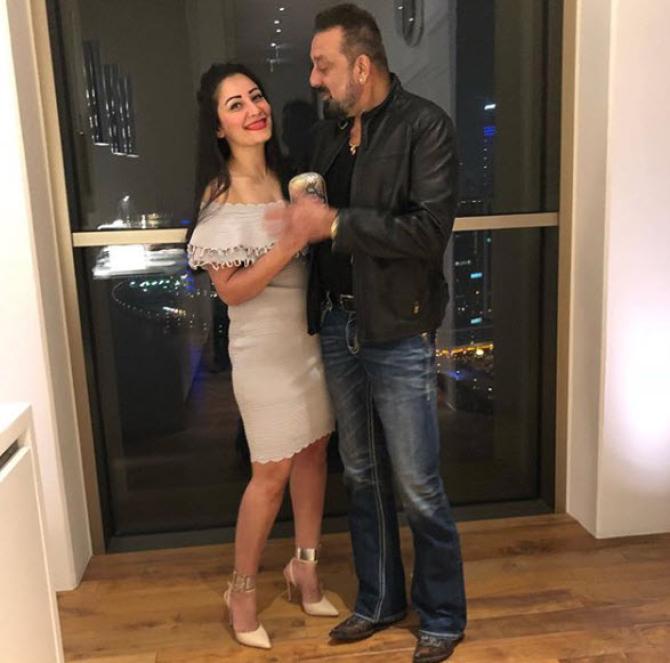 sanjay dutt and maanayata dut