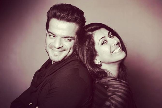 Karan Patel and Ankita Karan Patel