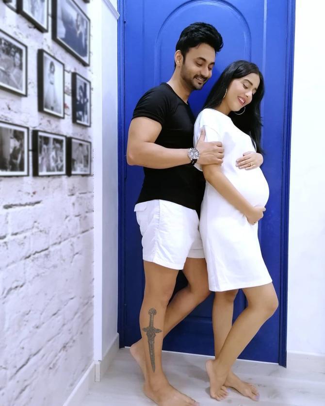 Amrita Rao and Anmol