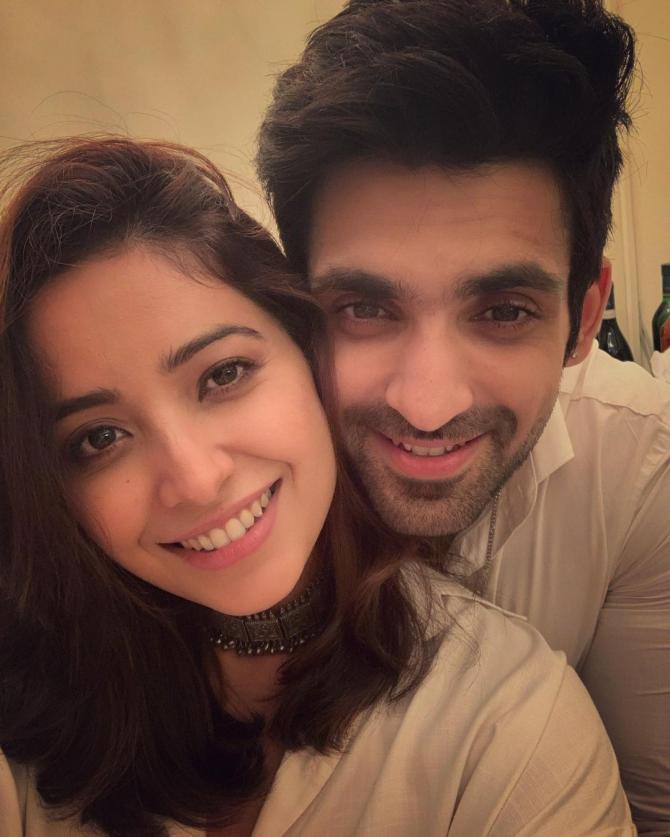 Asha Negi and Arjit Taneja