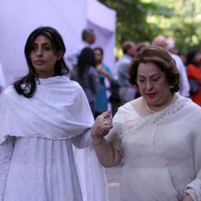 Shweta Bachchan Nanda and Ritu Nanda