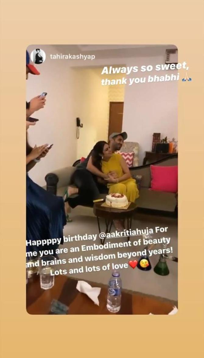 Tahira Kashyap and Aakriti Ahuja