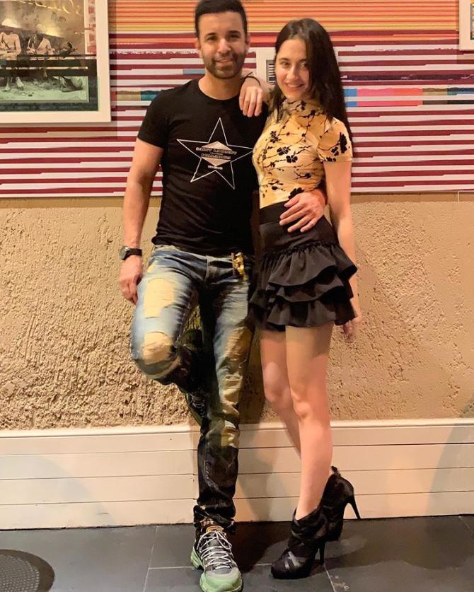 Aamir Ali and Sanjeeda Shaikh