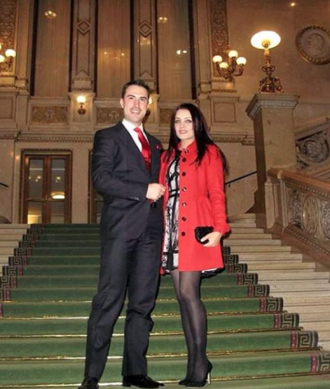Celina Jaitly and Peter Haag