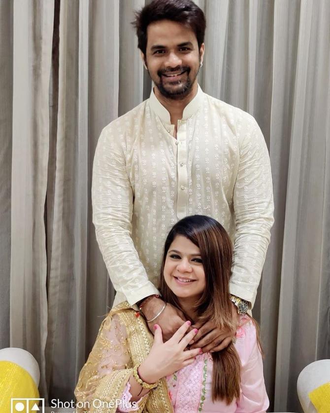 Rucha Gujarathi and Vishal Jaiswal