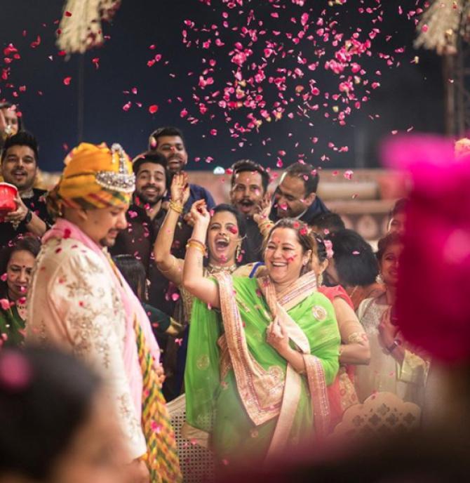 Suyesh Rawat and Vasundhra Raj Laxmi
