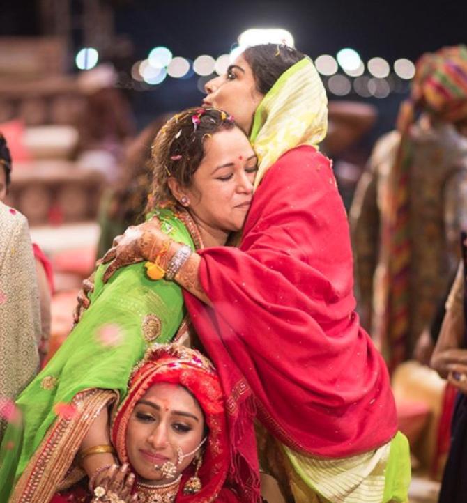 Mohena Kumari Singh and Vasundhra Raj Laxmi