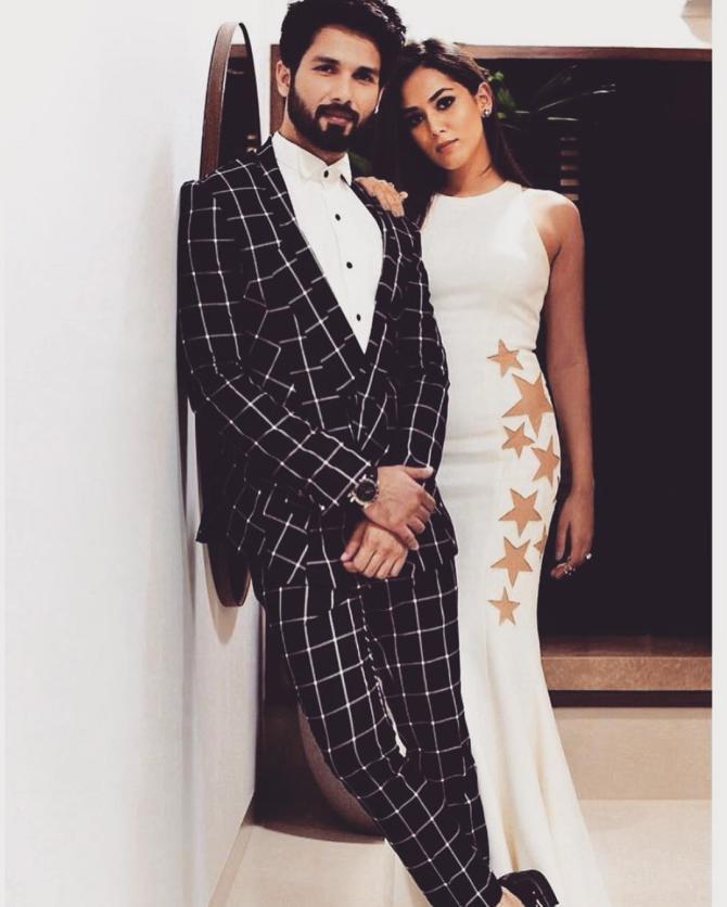 Shahid Kapoor and Mira Rajput Kapoor