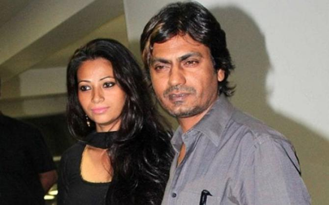 Nawazuddin Siddiqui and Aaliya Siddiqui