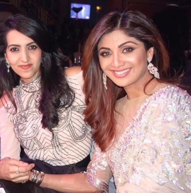 Shilpa Shetty Kundra and Reena Kundra