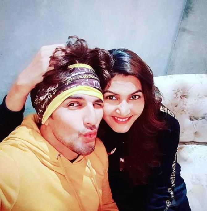 Manish Raisinghan and Sangeita Chauhaan