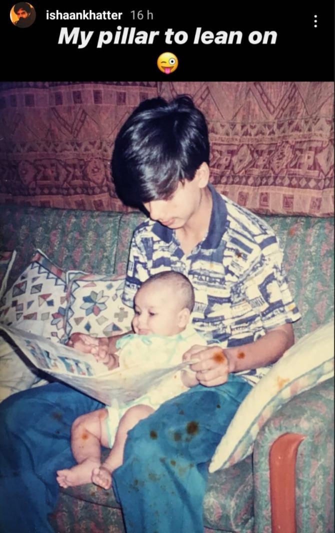 Shahid Kapoor and Ishaan Khattar