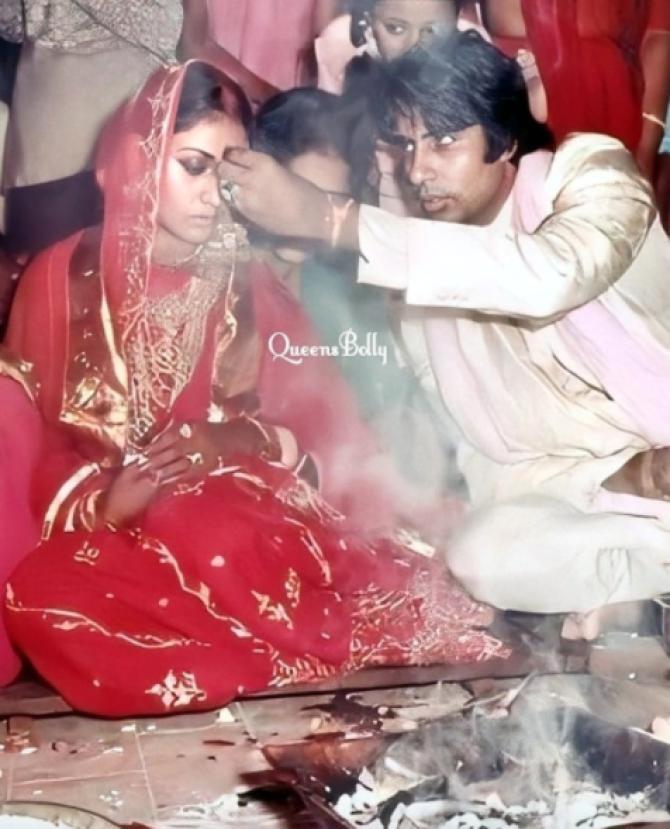 Amitabh Bachchan and Jaya Bachchan