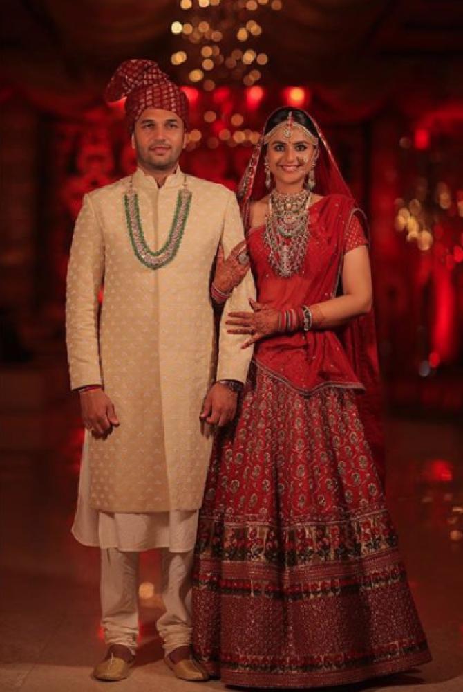 Prachi Tehlan and Rohit Saroha